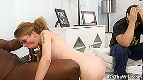 Do The Wife – Throat Fucking a BBC While Hubby Watches Me Compilation